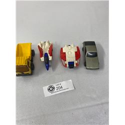 Lot Of 2 Tonkas And 2 Transformers