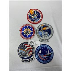 5 1980s Space Patches