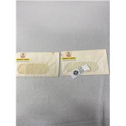 2 1950s NOS White Rose Oil Envelopes