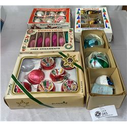 5 Boxes Of Vintage Christmas Decorations
