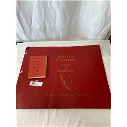 British Columbia Atlas Of Resources - 1956 And Prospecting For Uranium 1955