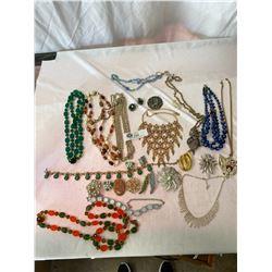 Lot Of Vintage Jewelery
