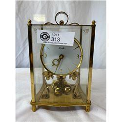 "Anniversary Clock Marked ""Kundo"" By Kieninger And Obergfell (Germany) = 400 Day Movement"