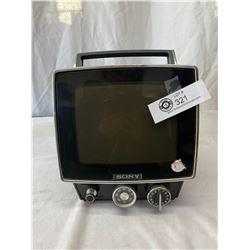 Small Portable B&W Television - Sony