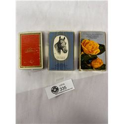 Vintage Playing Cards - Vancouver Service Station Advertising