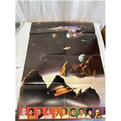 """Original 979 Star Trek - Motion Picture Double Sided Movie Poster 22""""x34"""""""