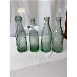 Vintage Bottles - Cross And Co., J Haslam And Sons, J. Eckersley And S.J. Carside