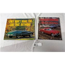 Lot Of 2 Nice Table Top Pictorial Books On Cars