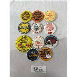 Nice Lot Of Vintage Auto Pins