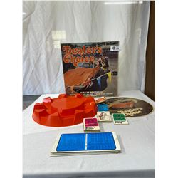 1972 Parker Brothers Dealers Choice Board Game In Original Box