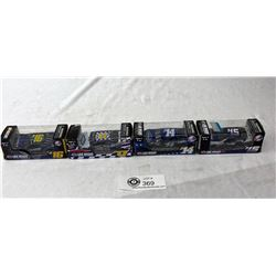 2014, 15,16 And 17, Los Vegas Dyecast Cars In Original Packages, 1-64 Scale
