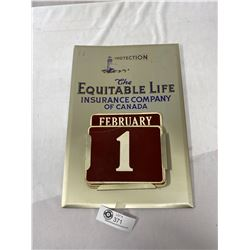 Vintage The Equitable Life Insurance Company Of Canada Complete Calendar