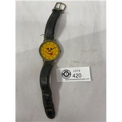 Vintage Happy Face Made In Japan Wrist Watch, Needs Service