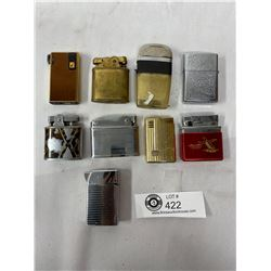 Nice Lot Of Vintage Lighters, Zippo, Etc