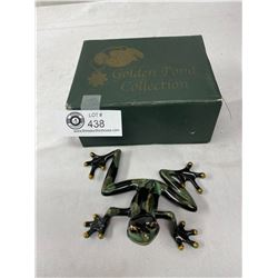 In The Box, Golden Pond Collection, Decorative Frog