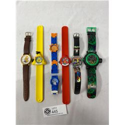 Nice Lot Winnie The Poo And Other Watches