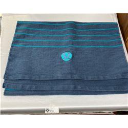 Large Lululemon Woven Cotton/Fabric Yoga Mat. Great Shape