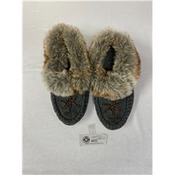 Brand New Size 2 Muskoka Suede Slippers. Excellent Condition
