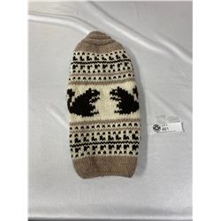 New Cowichen Knit small dog Sweater.