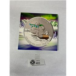.9999 Royal Canadian Mint Silver Coins $25 2016 Colorized Winter Fun