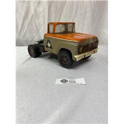 Vintage Tonka Metal Truck Allied Van Lines Truck Cab Only