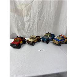 Lot of 4 Vintage Trucks