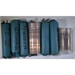 MIXED COIN ROLL LOT:
