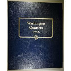 1941-88 WASHINGTON QUARTER SET  CH BU