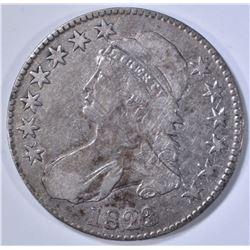 1823 BUST HALF DOLLAR  VF