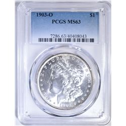 1903-O MORGAN DOLLAR PCGS MS-63