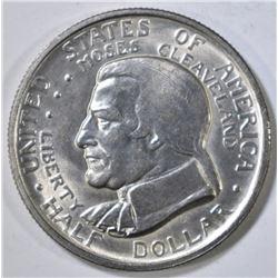 1936 CLEVELAND COMMEM HALF DOLLAR  CH BU