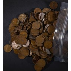 3 LBS MIXED DATE WHEAT CENTS