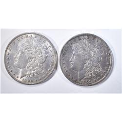 1896 & 1903 MORGAN DOLLARS  AU/BU