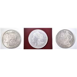 2 1921-S & 1921-D MORGAN DOLLARS  AU/BU