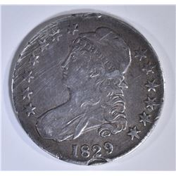 1829 BUST HALF DOLLAR  XF