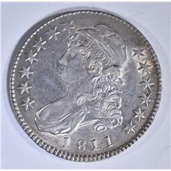 1811 BUST HALF DOLLAR  AU