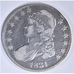 1831 BUST HALF DOLLAR  VF/XF