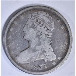 1837 BUST HALF DOLLAR  GOOD