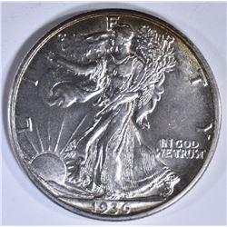 1936-D WALKING LIBERTY HALF CH BU