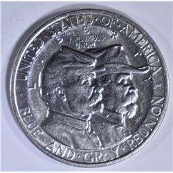 1936 GETTYSBURG COMMEM HALF DOLLAR  BU