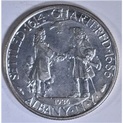 1936 ALBANY COMMEM HALF DOLLAR  CH BU