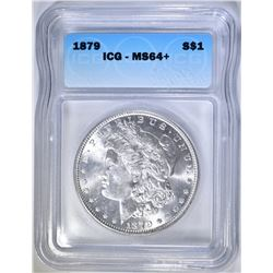 1879 MORGAN DOLLAR ICG MS-64+