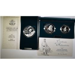LOT OF 3 PROOF COMMEMS: