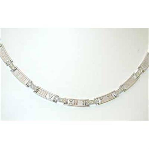 9106e3f01 Image 1 : 3270 TIFFANY & CO. ATLAS Diamond Necklace