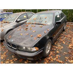 1997 BMW 528I, 4DR SEDAN, BLACK, VIN # WBADD6329VBW03432