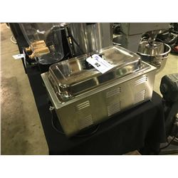 COMMERCIAL STAINLESS STEEL ELECTRIC TABLE TOP CHAFING DISH WITH LID