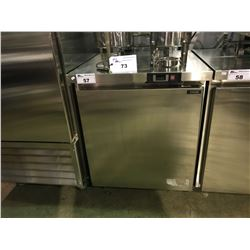 ENVIRO-COOL ESUC29R COMMERCIAL STAINLESS STEEL MOBILE SINGLE DOOR UNDER COUNTER COOLER