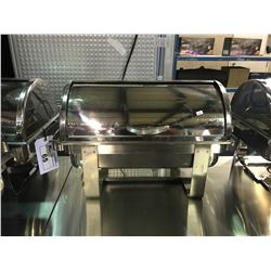 COMMERCIAL STAINLESS STEEL ROLL TOP CHAFING DISH