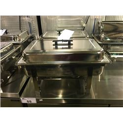 COMMERCIAL STAINLESS STEEL FLAT TOP LID CHAFING DISH
