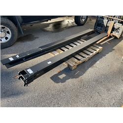 PAIR OF NEW GREAT BEAR 10' 6600LBS INDUSTRIAL FORK EXTENSIONS